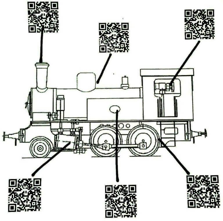Lokomotive qr code Friedrich Howanietz online marketing offensive digitale Schulung