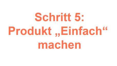 Schritt 5 Produkt einfach machen Friedrich Howanietz Online Marketing Bilderbuch