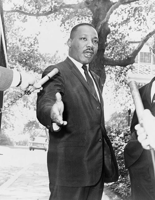 Martin Luther King der Mensch der Erfolg hat Friedrich Howanietz Texte schreiben die man verstehen kann